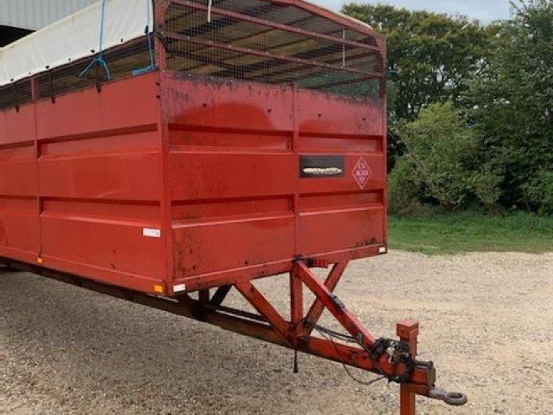 Viehanhänger типа Agro Grisetransport/udleveringsvogn, 12 meter lang, Gebrauchtmaschine в Redsted M (Фотография 1)