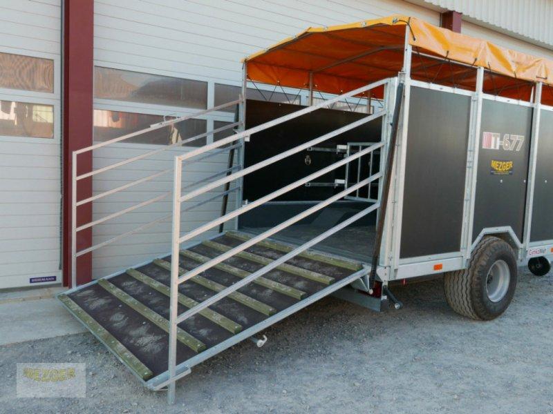 Viehanhänger типа CYNKOMET Viehwagen KURIER 6 mit Auflaufbremse, Neumaschine в Ditzingen (Фотография 1)