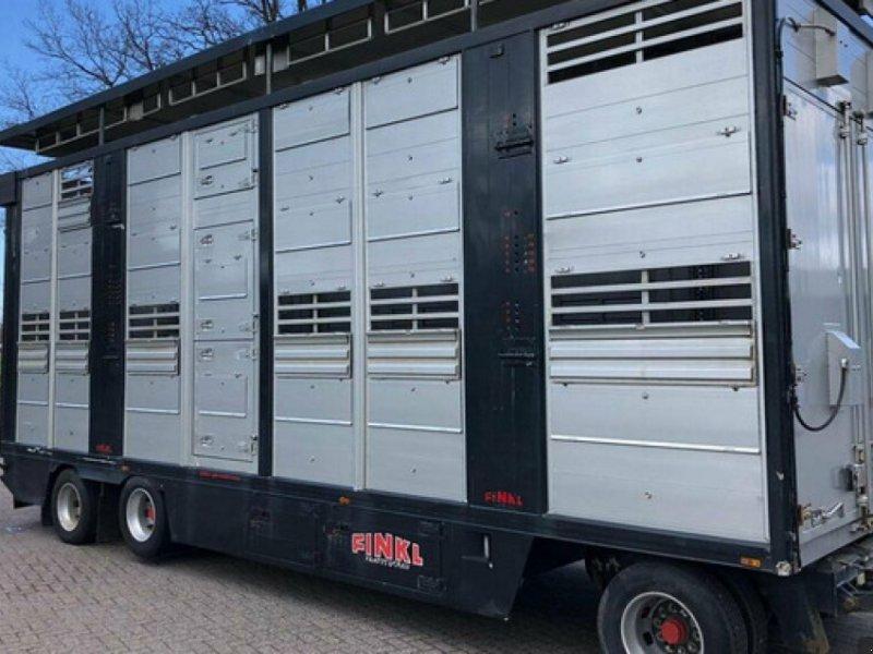 Viehanhänger des Typs Finkl Viehtransporter, Gebrauchtmaschine in Kühlenthal (Bild 1)