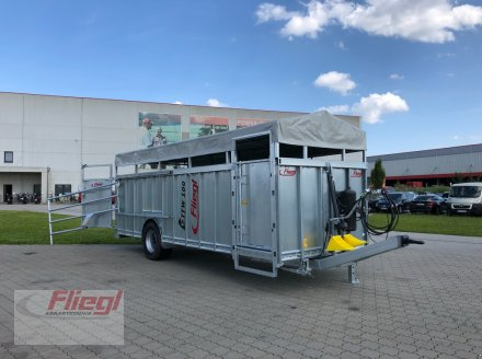Viehanhänger du type Fliegl TTW 100, Neumaschine en Mühldorf (Photo 6)
