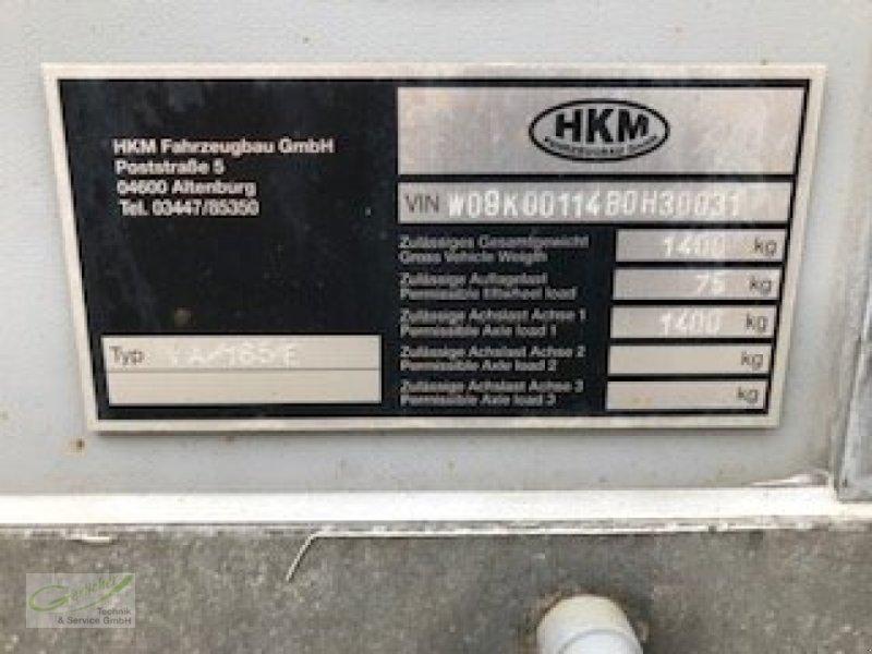 Viehanhänger des Typs HKM VA 165 E, Gebrauchtmaschine in Neustadt (Bild 6)