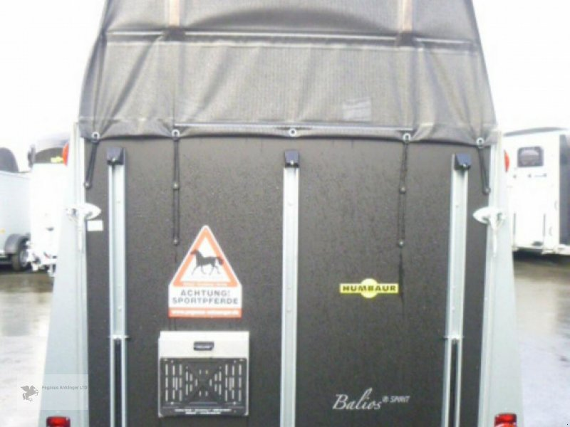 Viehanhänger des Typs Humbaur Balios Spirit 2-Pferdeanhänger NEU 2020 ALUBODEN, Neumaschine in Gevelsberg (Bild 6)