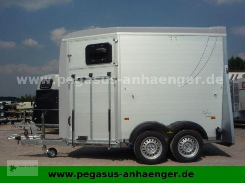 Viehanhänger des Typs Humbaur Notos 2-Pferdeanhänger ALU 2,4 to. 2021, Neumaschine in Gevelsberg (Bild 5)