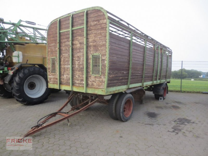 Viehanhänger des Typs Kröger Viehanhänger, Gebrauchtmaschine in Bockel - Gyhum (Bild 1)