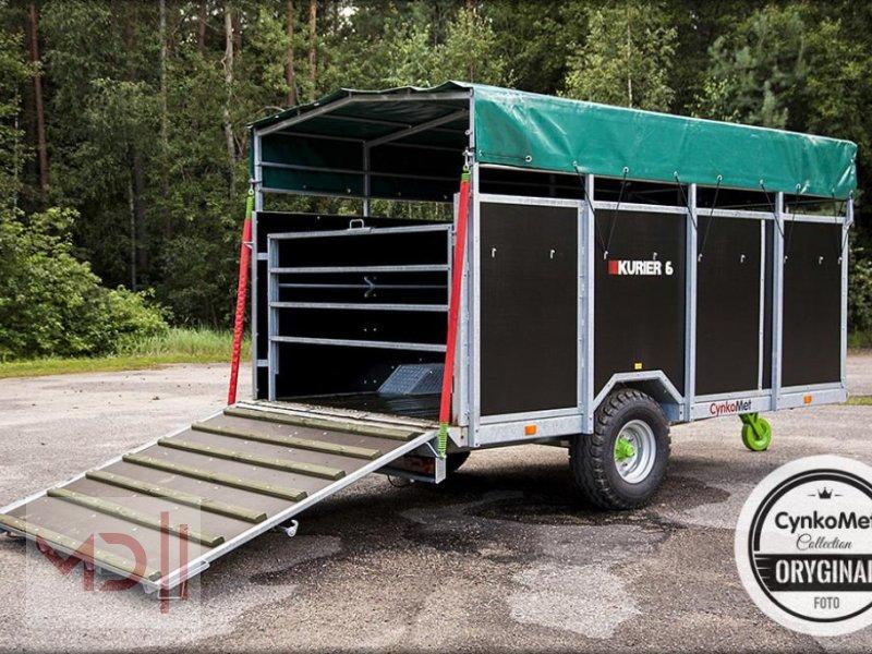 Viehanhänger типа MD Landmaschinen CYNKOMET Viehanhänger-Viehwagen T-677 KURIER 6 EU-Zulassung, Neumaschine в Zeven (Фотография 2)