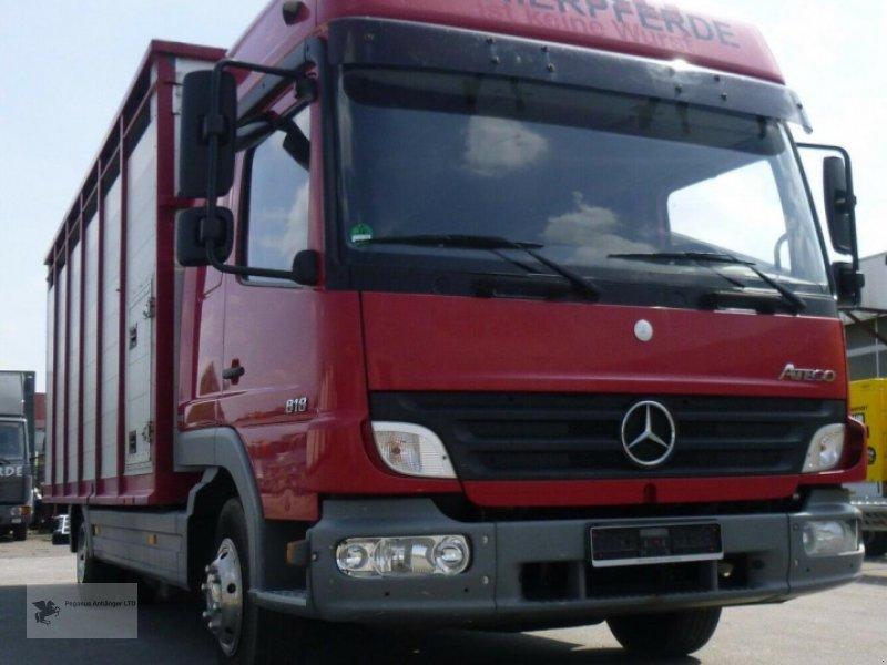 Viehanhänger des Typs Mercedes-Benz Atego 818L Vieh/Pferdetransporter 7,49to VOLLALU, Gebrauchtmaschine in Gevelsberg (Bild 2)