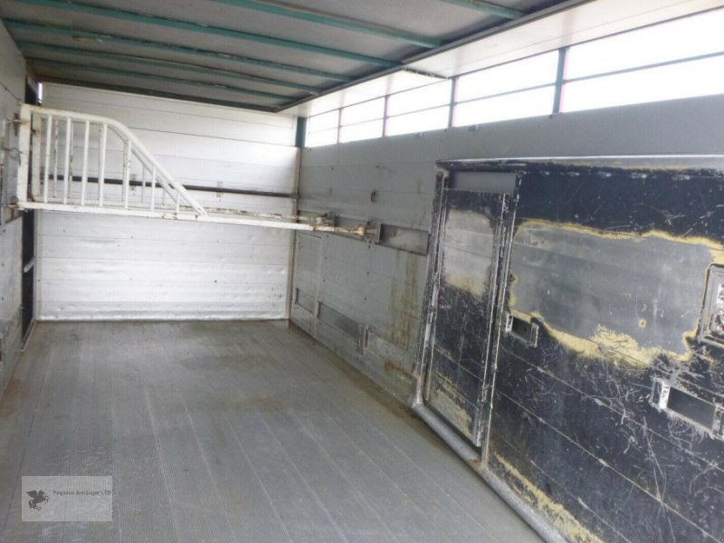 Viehanhänger des Typs Mercedes-Benz Atego 818L Vieh/Pferdetransporter 7,49to VOLLALU, Gebrauchtmaschine in Gevelsberg (Bild 9)