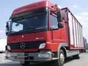Viehanhänger typu Mercedes-Benz Atego 818L Vieh/Pferdetransporter 7,49to VOLLALU, Gebrauchtmaschine w Gevelsberg