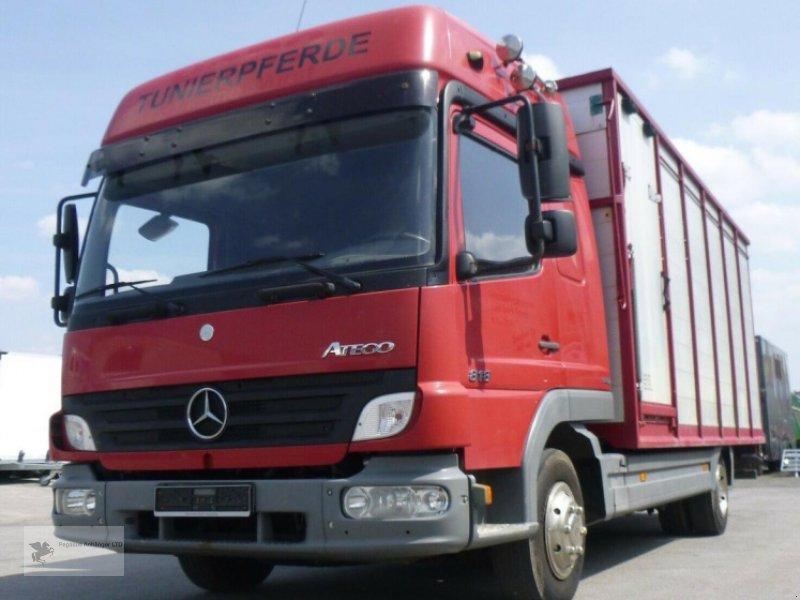 Viehanhänger des Typs Mercedes-Benz Atego 818L Vieh/Pferdetransporter 7,49to VOLLALU, Gebrauchtmaschine in Gevelsberg (Bild 1)
