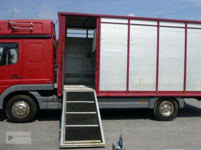 Viehanhänger des Typs Mercedes-Benz Atego 818L Vieh/Pferdetransporter 7,49to VOLLALU, Gebrauchtmaschine in Gevelsberg (Bild 6)