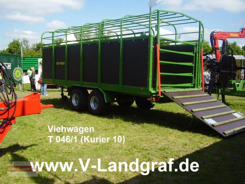 Viehanhänger of the type PRONAR T 046/1, Neumaschine in Ostheim/Rhön (Picture 1)