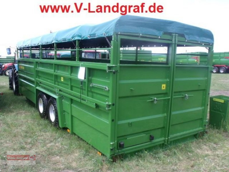 Viehanhänger des Typs PRONAR T 046/2, Neumaschine in Ostheim/Rhön (Bild 1)