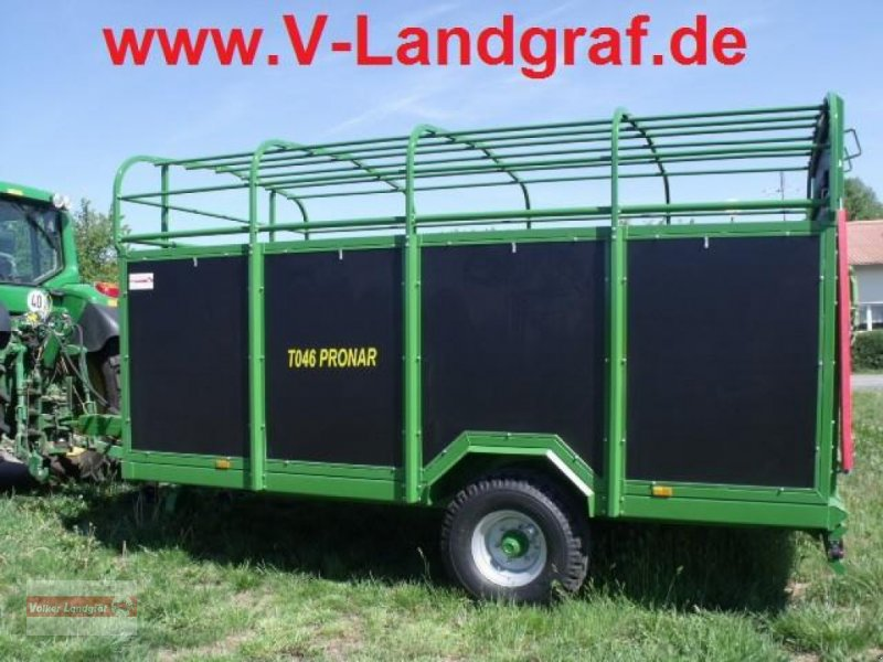 Viehanhänger des Typs PRONAR T 046, Gebrauchtmaschine in Ostheim/Rhön (Bild 1)