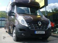 Renault Master  2-Pferdetransporter AHK Hengstgitter Viehanhänger