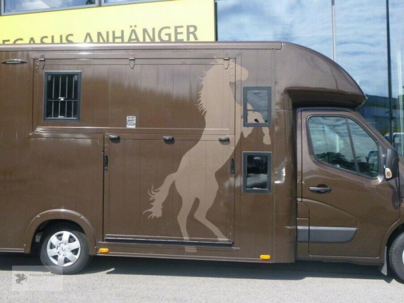Viehanhänger des Typs Renault Master  2-Pferdetransporter AHK Hengstgitter, Gebrauchtmaschine in Gevelsberg (Bild 2)
