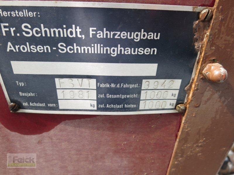 Viehanhänger des Typs Schmidt FSVT Viehanhänger, Gebrauchtmaschine in Reinheim (Bild 9)