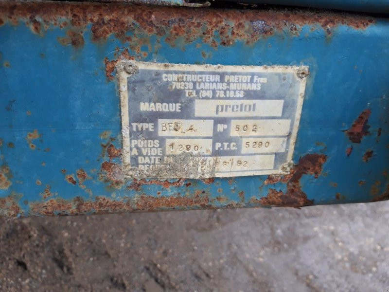 Viehanhänger du type Sonstige 4 M, Gebrauchtmaschine en BRAS SUR MEUSE (Photo 5)