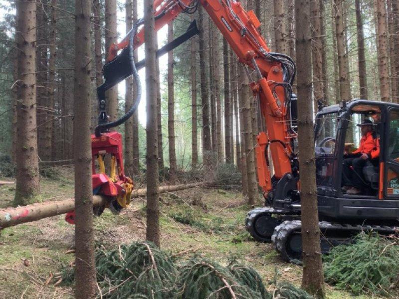 Vollernter des Typs Doosan DX 85 Harvester Woody, Neumaschine in Hutthurm (Bild 1)