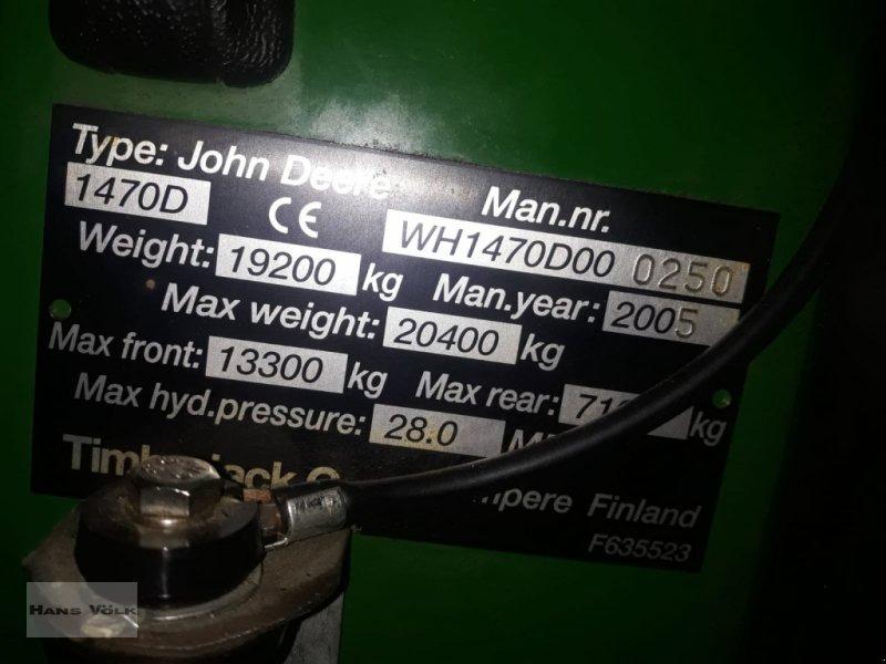 Vollernter des Typs John Deere 1470 D, Gebrauchtmaschine in Soyen (Bild 17)
