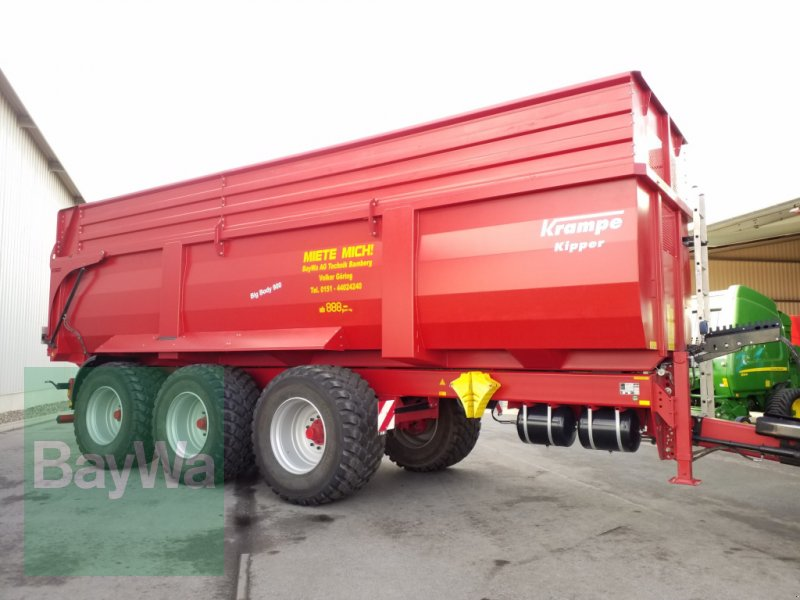Wannenkipper du type Krampe Big Body 900 Tridem *Miete ab 179€/Tag*, Gebrauchtmaschine en Bamberg (Photo 1)