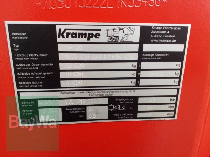 Wannenkipper typu Krampe HP20 Carrier *Miete ab 179€/Tag*, Gebrauchtmaschine v Bamberg (Obrázok 12)