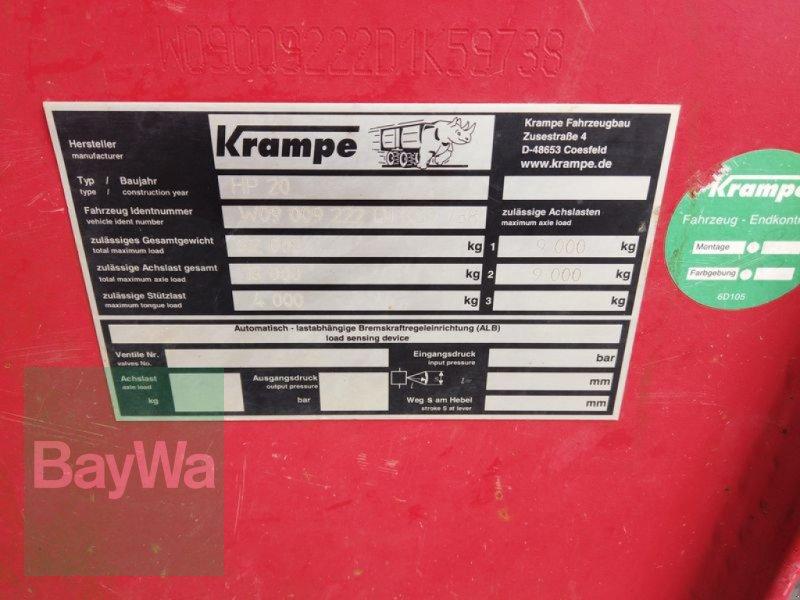 Wannenkipper des Typs Krampe HP20, Gebrauchtmaschine in Manching (Bild 11)