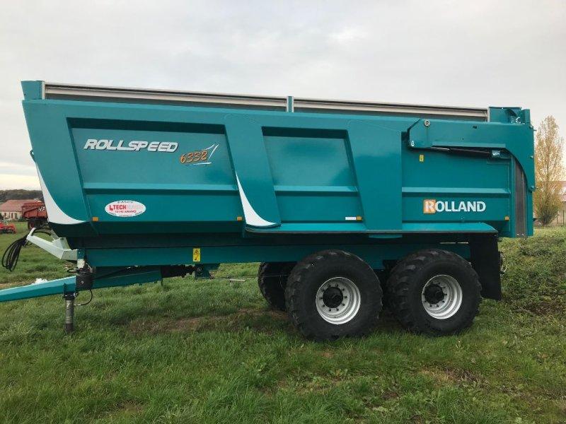 Wannenkipper des Typs Rolland ROLLSPEED 6332, Gebrauchtmaschine in AMANCE (Bild 1)