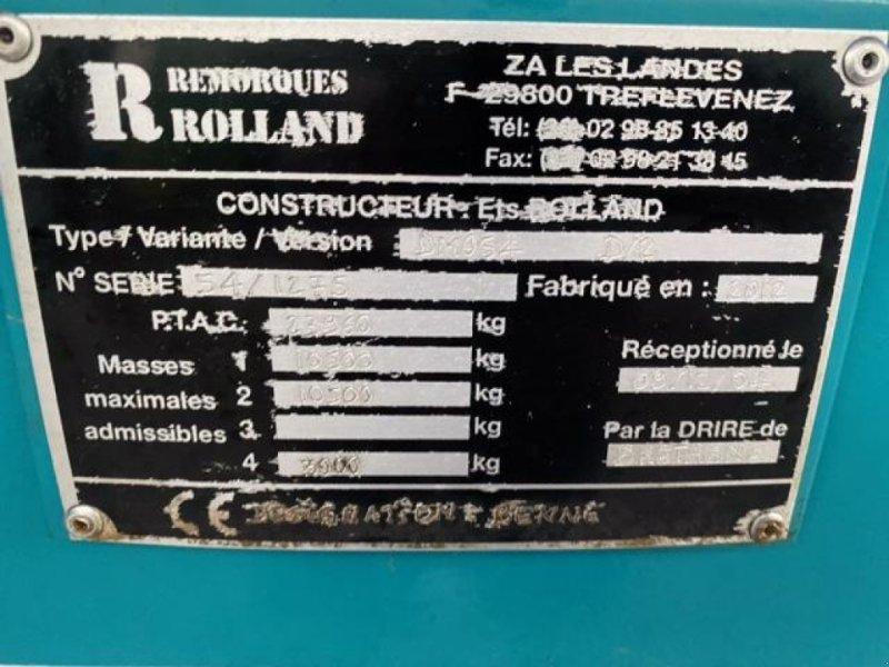 Wannenkipper типа Rolland ROLLSPEED 6835, Gebrauchtmaschine в Richebourg (Фотография 9)