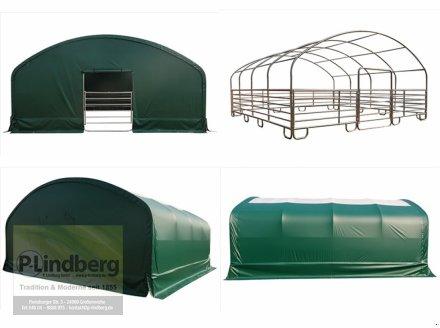 P.Lindberg GmbH Unterstand 8 x 8 x 4 m Weidezelt Witterungsschutz Schneelast Windlast 650 g/m² Weidezelt