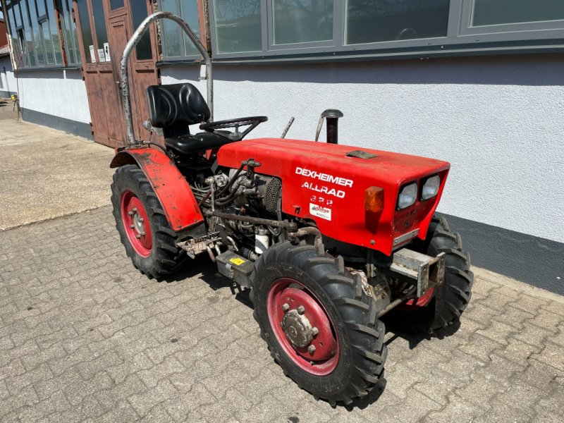 Weinbautraktor typu Dexheimer 222 Allrad Traktor Schlepper Schmalspur Weinbau Obstbau, Gebrauchtmaschine w Bühl (Zdjęcie 1)