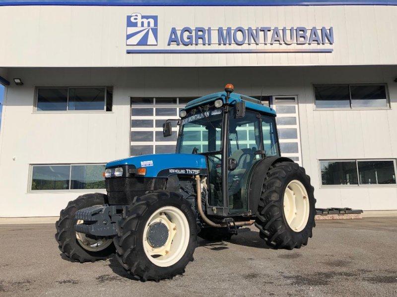 Weinbautraktor des Typs New Holland TN 75 F, Gebrauchtmaschine in Montauban (Bild 1)