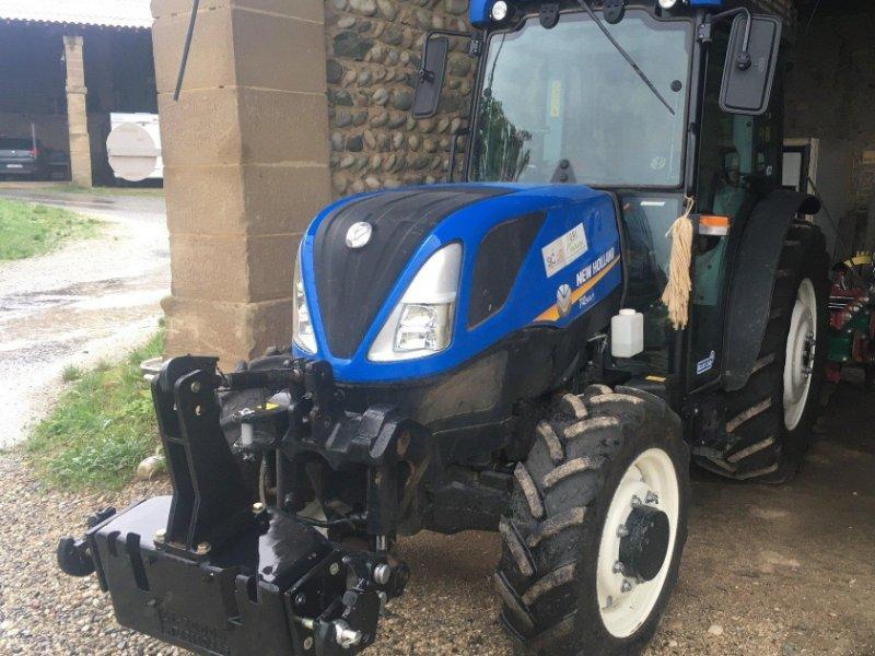 Фотография New Holland Tracteur fruitier T4.90 LP Cabine New Holland