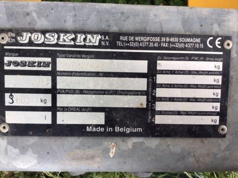 Wiesenegge типа Joskin EBR4S6M, Gebrauchtmaschine в les hayons (Фотография 5)