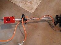 Infraweeder Eco Propan gyomirtó gép