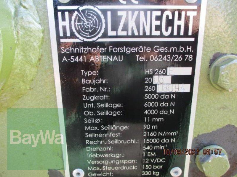 Zubehör des Typs Holzknecht SEILWINDE HS 260/6T.  #104, Gebrauchtmaschine in Schönau b.Tuntenhausen (Bild 7)