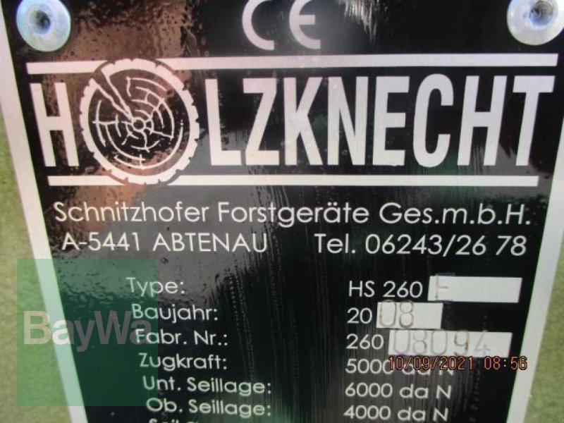 Zubehör des Typs Holzknecht SEILWINDE HS 260/6T.  #104, Gebrauchtmaschine in Schönau b.Tuntenhausen (Bild 5)
