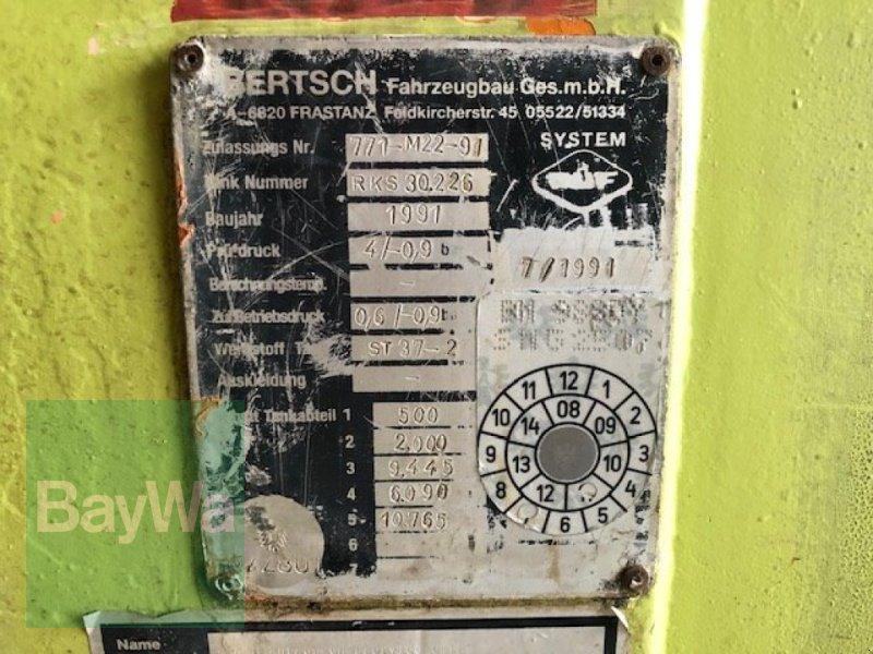 Zubringerfaß a típus Bertsch Sattelauflieger 28,5 m³ mit Liftachse, Gebrauchtmaschine ekkor: Fürth (Kép 8)