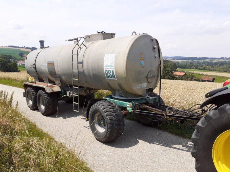 Bild BSA Güllezubringer mit Pumpe - 24 Tonnen - 40 km/H - Transportfass - Tankanhänger - Güllewagen - Güllefass - Güllewagen