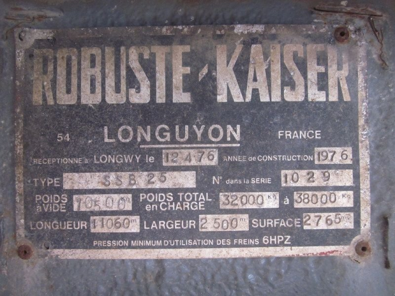 Zubringerfaß typu Sonstige SSB25, Gebrauchtmaschine w BRIGNAIS (Zdjęcie 8)