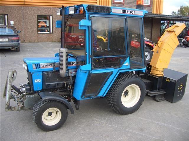 traktor iseki 2160. Black Bedroom Furniture Sets. Home Design Ideas