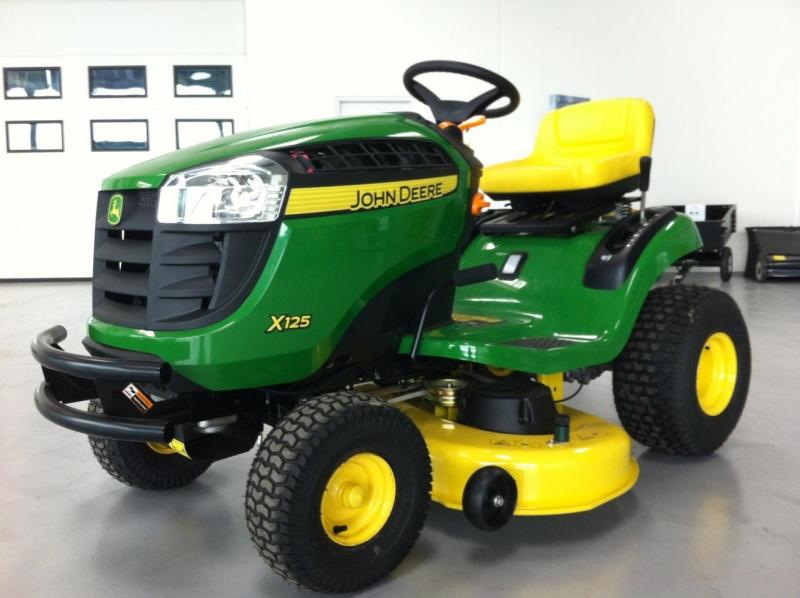 Tracteur tondeuse john deere x125 pl netraktor - Tracteur tondeuse john deere occasion ...