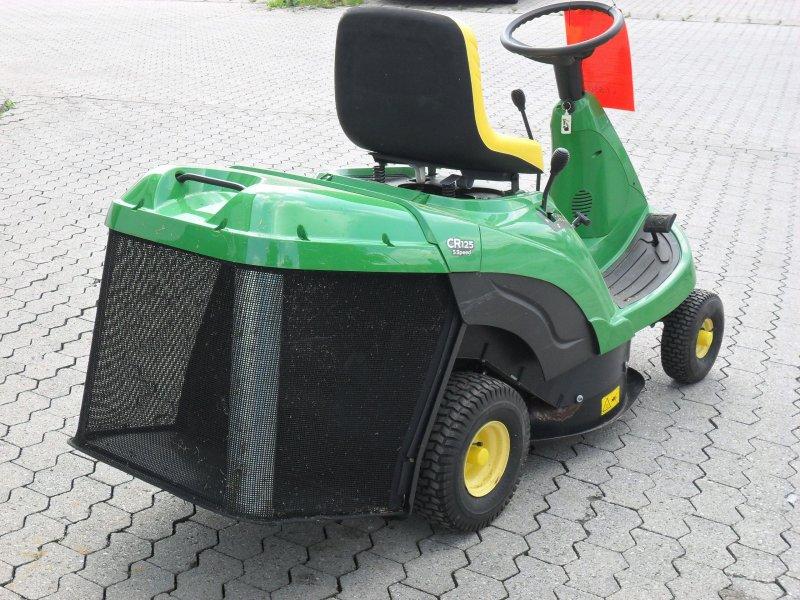 Tracteur tondeuse john deere jd cr 125 - Tracteur tondeuse coupe frontale d occasion ...