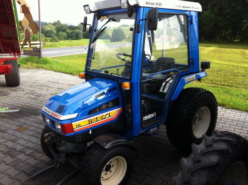 traktor iseki 3020 allrad. Black Bedroom Furniture Sets. Home Design Ideas
