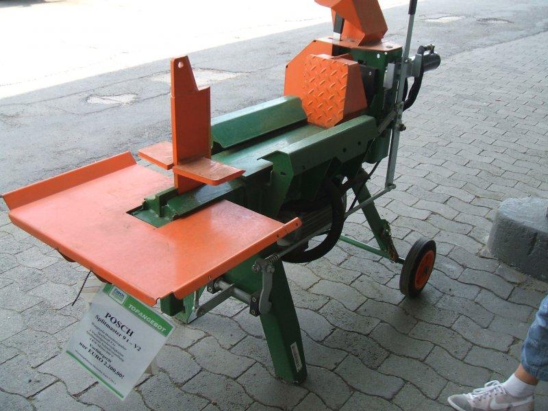 Vorf hrmaschine posch splitmaster 9 t v2 holzspalter for Splitmaster
