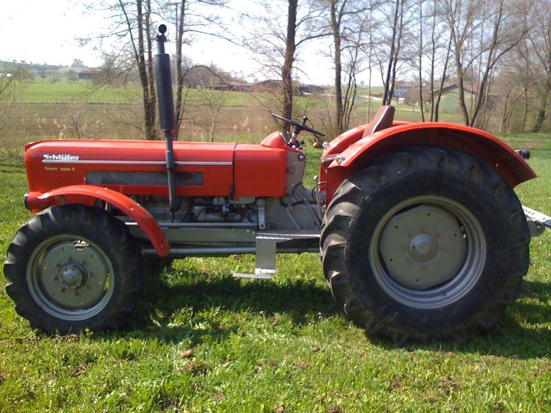 traktor schl ter sf 6800 v. Black Bedroom Furniture Sets. Home Design Ideas