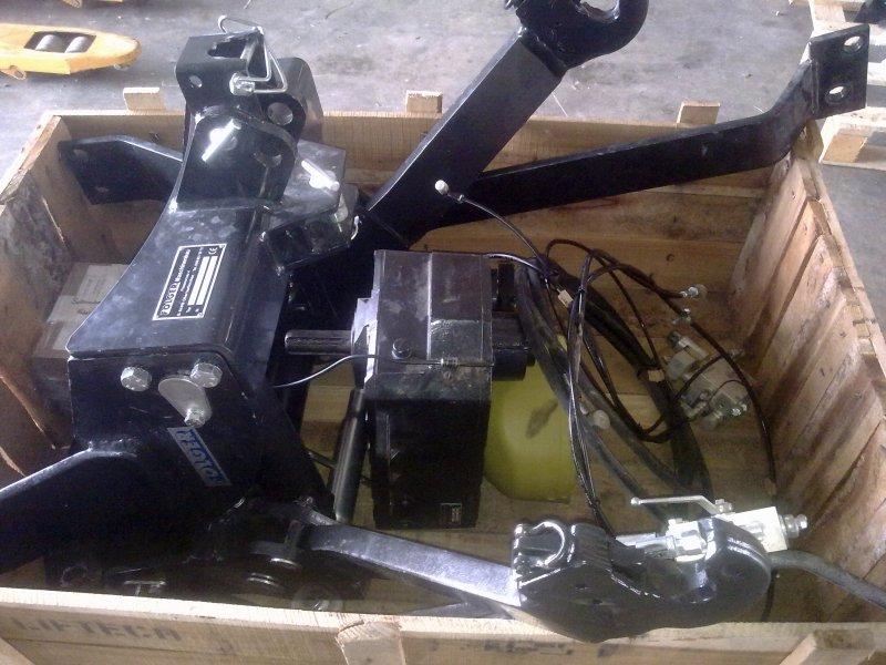 Fronthydraulik/Zapfwelle Folger FH+FZW T5050 T5070 New ...