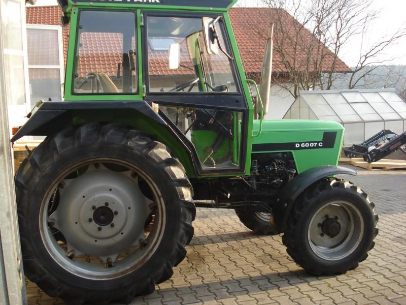 traktor deutz fahr 6007 c allrad. Black Bedroom Furniture Sets. Home Design Ideas