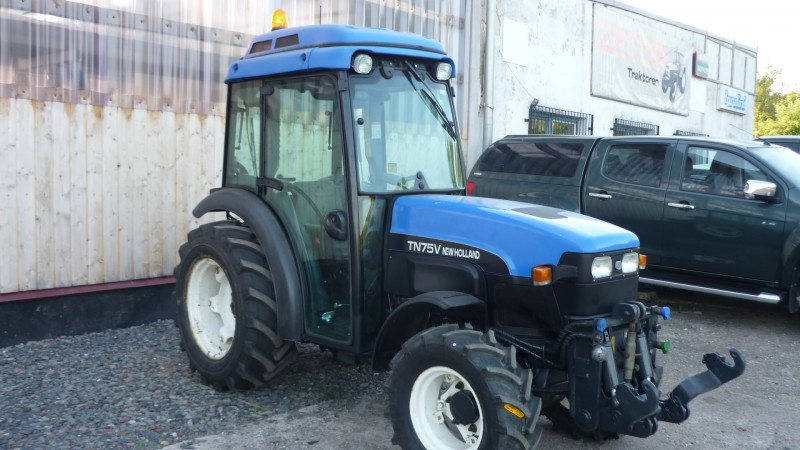 New Holland Orchard Tractors : Orchard tractor new holland tn v technikboerse