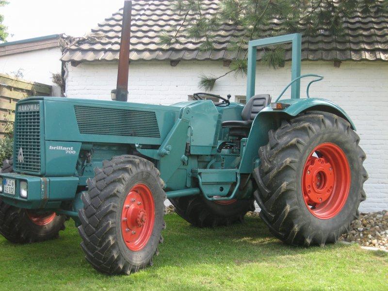 Traktor hanomag brillant as allrad technikboerse