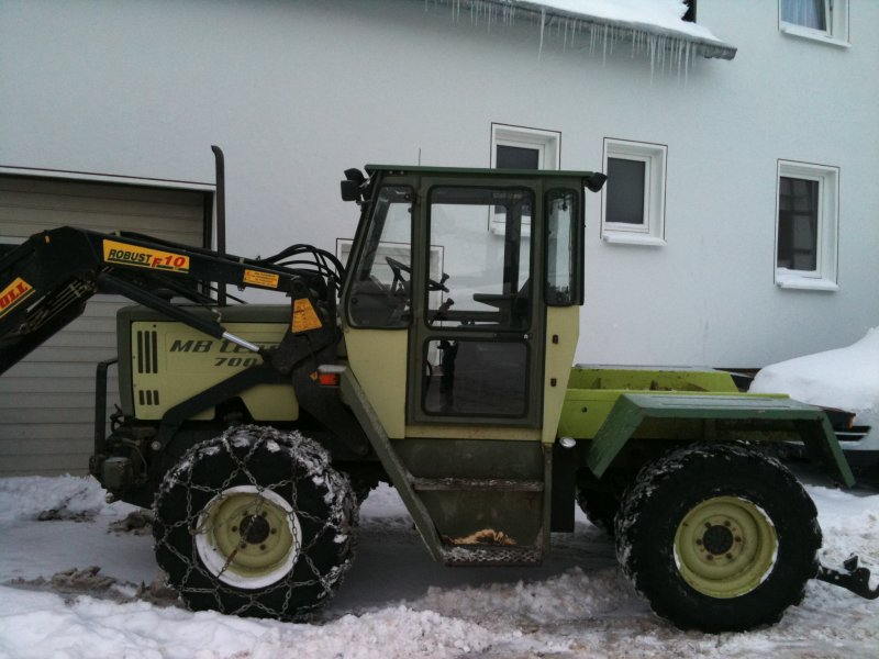 tractor mercedes benz mb trac 700 g. Black Bedroom Furniture Sets. Home Design Ideas